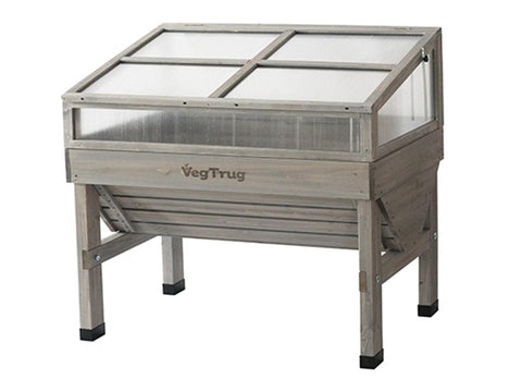 Image of Small, Grey color Cold Frame for VegTrug Planter