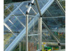 Image of Palram 6ft x 16ft Snap & Grow Hobby Greenhouse - open window