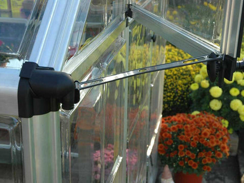 Image of Palram 6ft x 16ft Snap & Grow Hobby Greenhouse - window opening