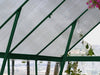 Image of Palram 8ft x 12ft Balance Hobby Greenhouse - HG6112G - showing the roof - view form the inside