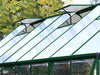 Image of Palram 8ft x 12ft Balance Hobby Greenhouse - HG6112G - two adjustable roof vents