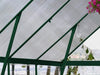 Image of Palram 8ft x 8ft Balance Hobby Greenhouse - HG6108G - polycarbonate panel - interior view