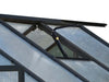 Image of Riverstone Monticello Greenhouse 8x20 - Premium Package - roof vent with automatic opener