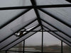 Image of Riverstone Monticello Greenhouse 8x20 - Premium Package - interior view of framework