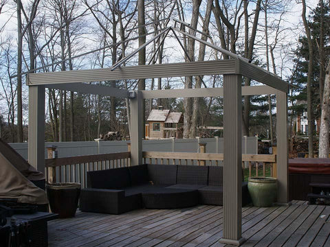 Image of Acacia Gazebo 12ft x 12ft Frame Only