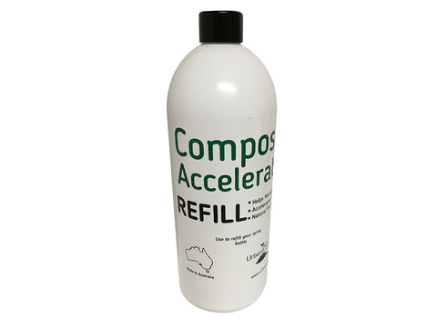 Urban Compost Accelerator Refill Bottle
