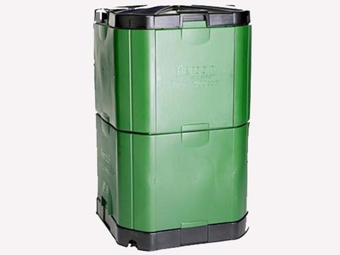 Image of Closed Aerobin 400 Insulated Composter - gray background