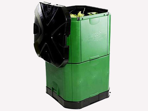 Image of Open Aerobin 400 Insulated Composter - gray background