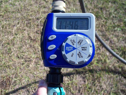 Image of Monticello Automatic Greenhouse Watering System - digital watering timer