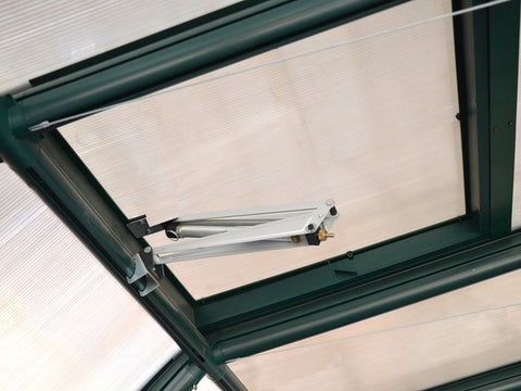 Image of Attached Rion Automatic Roof Vent Opener - close up view