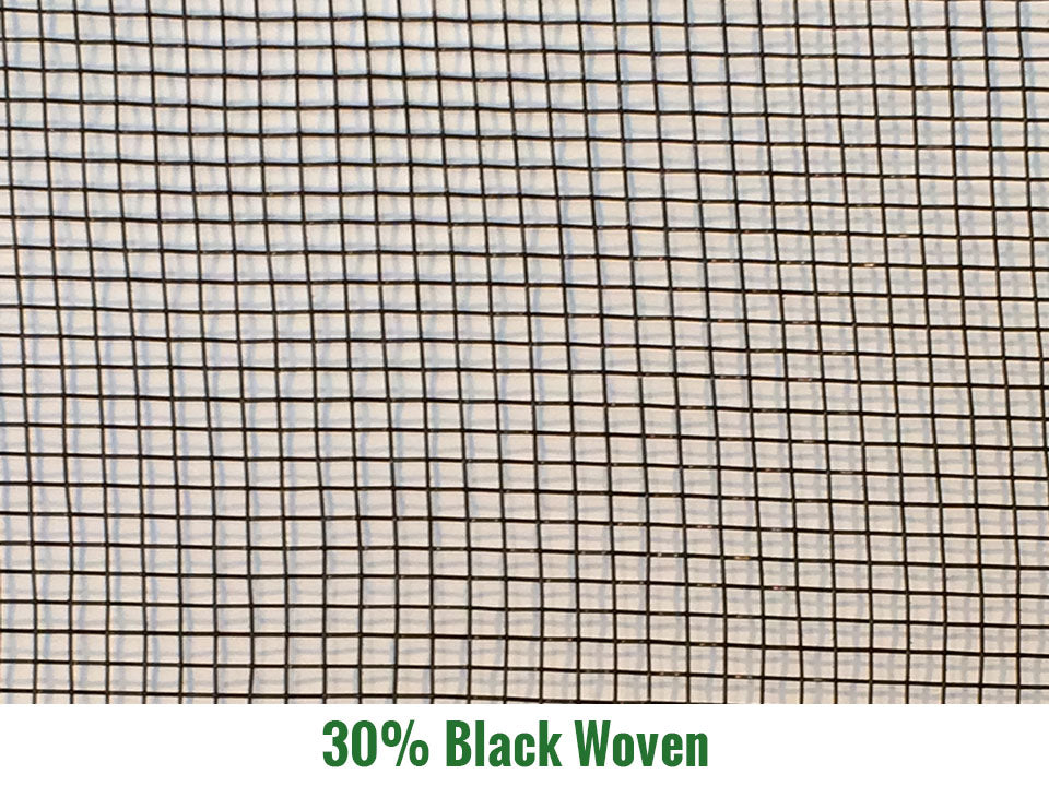 Riverstone 30% Black Woven Shade Cloth