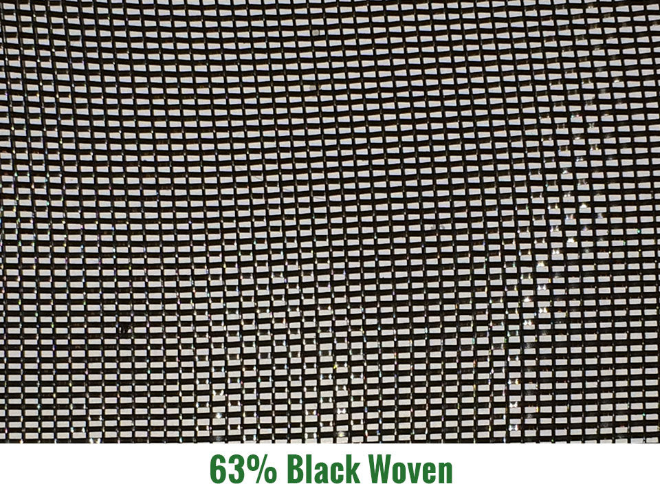 Riverstone 63% Black Woven Shade Cloth
