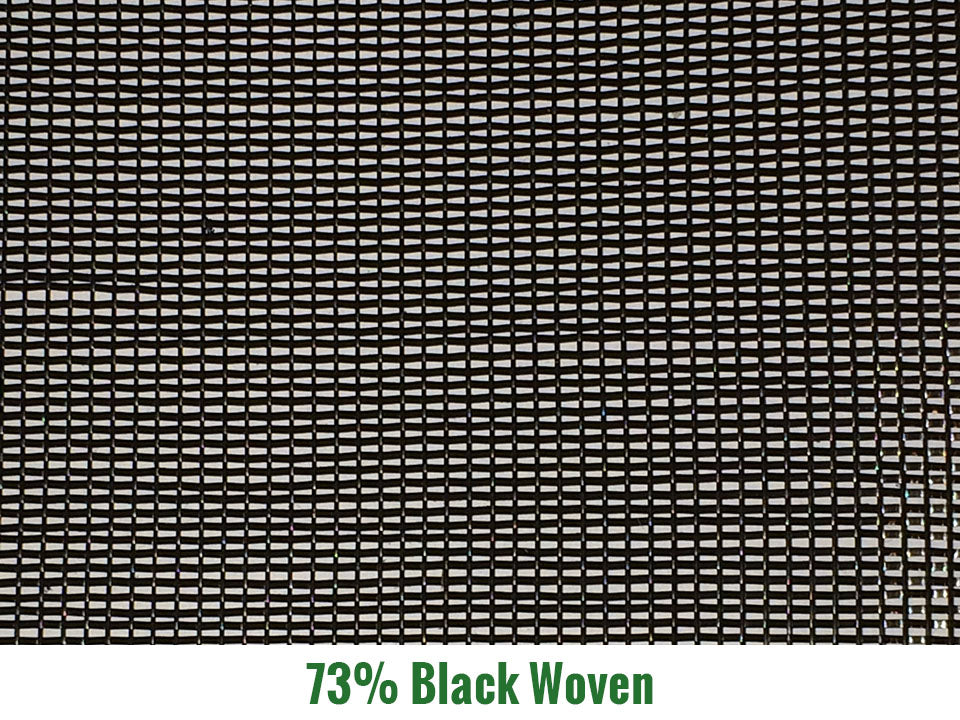 Riverstone 73% Black Woven Shade Cloth