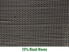 Image of Riverstone 73% Black Woven Shade Cloth