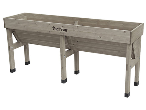 Image of Bare Medium Grey VegTrug Wall Hugger Planter