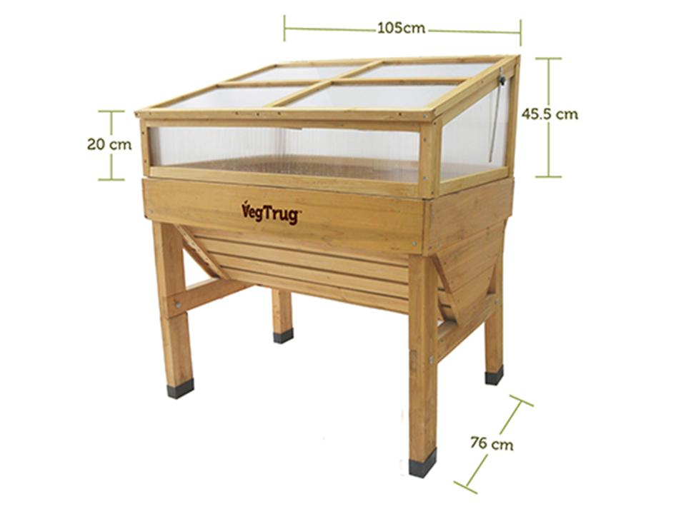 Cold Frame for VegTrug Planter with diameter