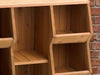 Image of Empty Storage Cubby Shelf - close up view