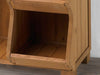 Image of Corner bottom of Storage Cubby Shelf