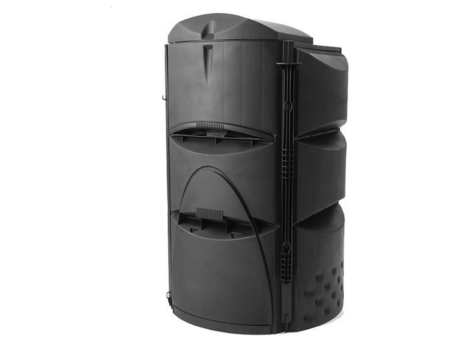 Earthmaker 3-Stage Composter with white background
