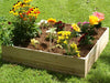 Image of The Eden Garden Bed with Trellis can be used with or without the trellis
