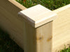 Image of Corner finish cap of Eden Garden Bed