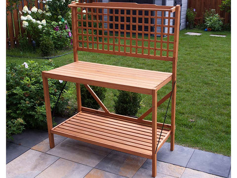 Image of Empty Foldable Potting Bench