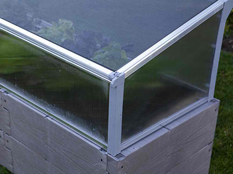 Juwel Year Round Cold Frame W O Raised Bed Greenhouse