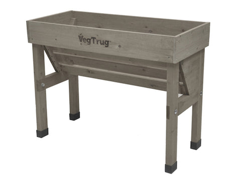 Image of Small Grey VegTrug Wall Hugger Planter