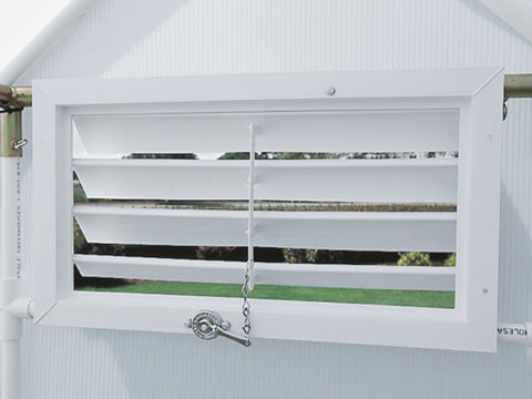 Installed Solexx Easy-Flow Louver Vent