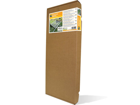 Image of Palram 24.5in x 16.5in Heavy Duty Shelf Kit Full image packaging in white background