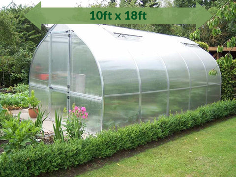 Image of Hoklartherm Riga 5 Greenhouse 10x18