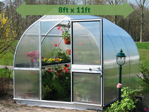 Image of Hoklartherm Riga 3s Greenhouse 8x11