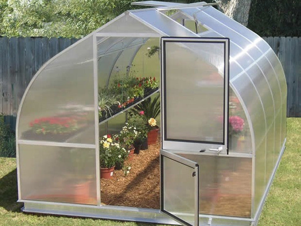 Hoklartherm Riga 4s Greenhouse 8ft x 14ft