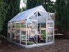 Image of Palram Hybrid 6ft x 8ft Hobby Greenhouse-HG5508(G) - full view - in a garden