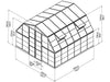 Image of Palram Americana 12ft x 12ft Hybrid Greenhouse HG5212