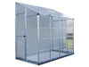 Image of Palram 4in x 8in Hybrid Lean-to side view in white background for Palram accessories