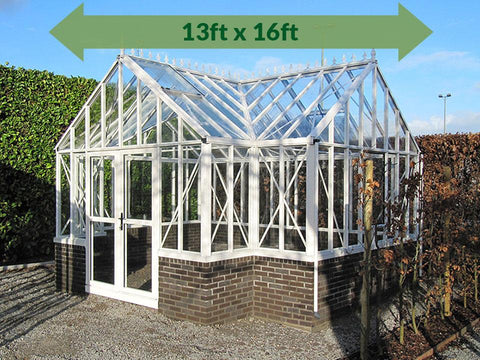 Janssens T-Shaped Royal Victorian Antique Orangerie 13ft x 16ft