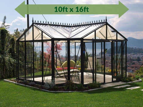 Janssens T-Shaped Royal Victorian Orangerie 10ft x 16ft