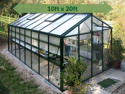 Image of Janssens Royal Victorian VI36 Greenhouse 10ft x 20ft