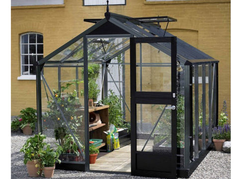 Juliana Compact Greenhouse Anthracite/Black 3 mm Toughened Glass