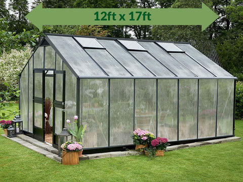 Image of Juliana Gardener Greenhouse 12ft x 17ft