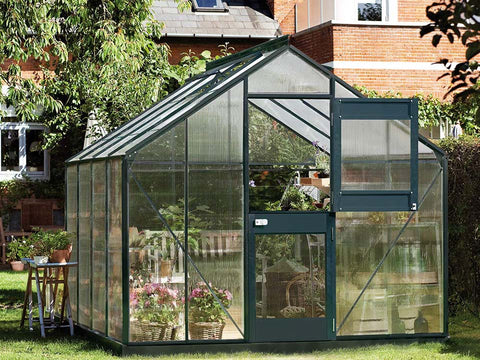 Image of Juliana Junior Greenhouse 9ft x 10ft - Anthracite 6 mm Polycarbonate