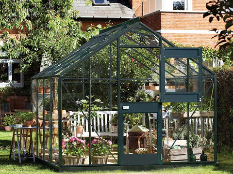 Image of Juliana Junior Greenhouse 9ft x 10ft - Anthracite 3 mm Horticultural Glass