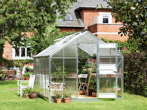 Juliana Junior Greenhouse 9ft x 12ft - 6 mm Polycarbonate