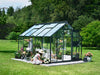 Image of Juliana Junior Greenhouse 9ft x 12ft - Anthracite 3 mm Horticultural Glass