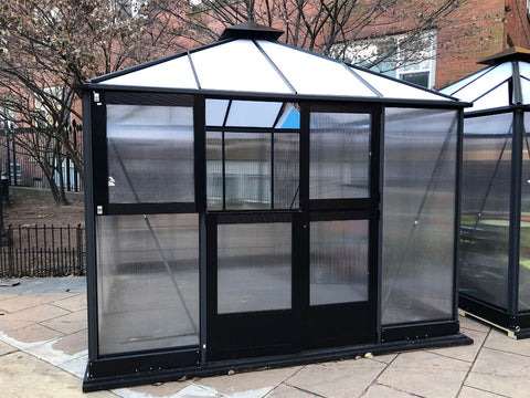 Image of Bare Juliana 10x10 Polycarbonate with open left upper door