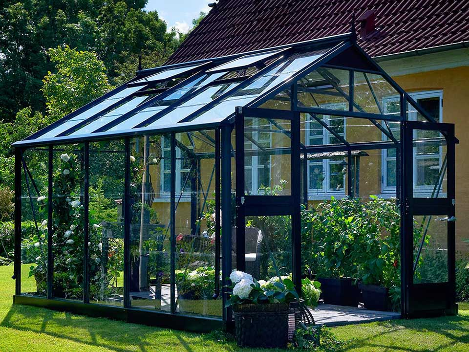 Juliana Premium 10ft x 12ft Anthracite 3 mm Toughened Glass