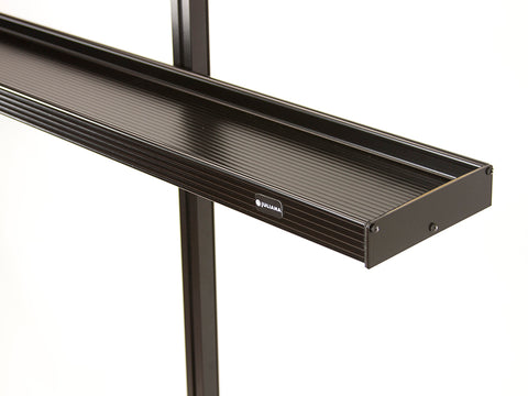 Image of One end of the Juliana Narrow Top Shelves with white background