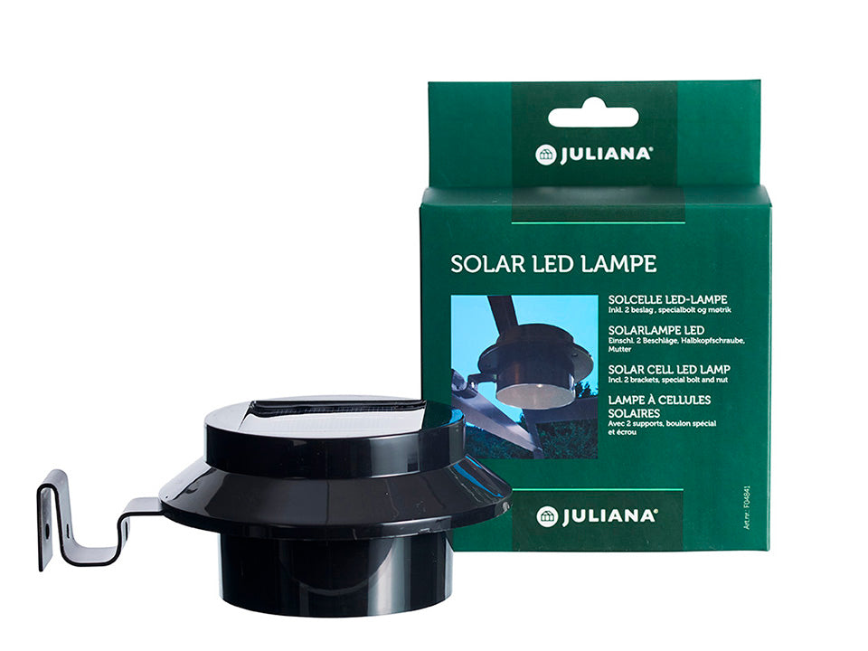 Juliana Greenhouse Interior Solar Light with package box