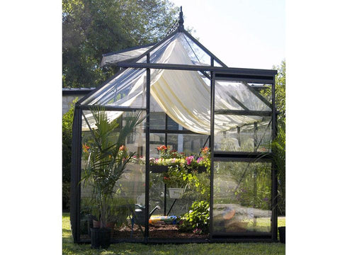 Image of Janssens Junior Victorian Greenhouse with accessory kit (shade cloth and seed tray)